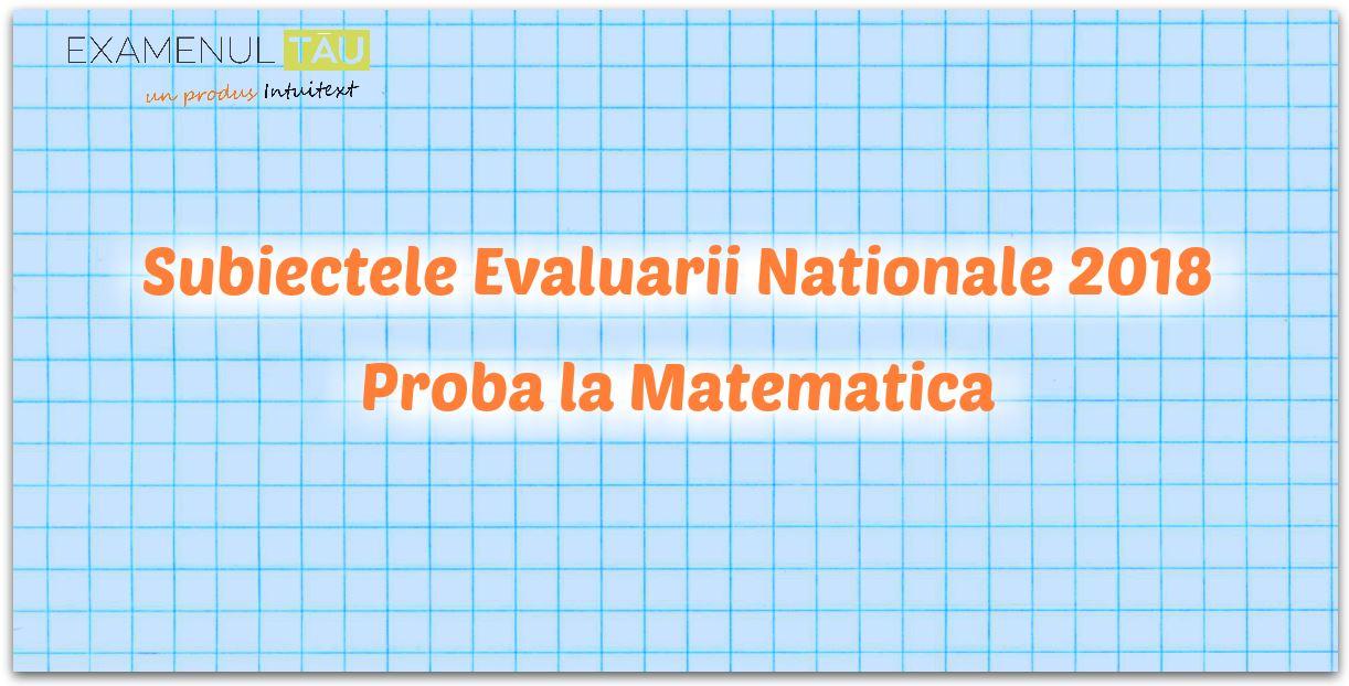 Subiecte Simulare Clasa A 7a Romana 2019 News: Evaluare Nationala 2019 Clasa 7 Update